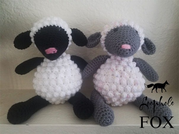 Amigurumi Baby Timmy Sheep [FREE Pattern+Tutorial] - The Crochet Space | 454x605