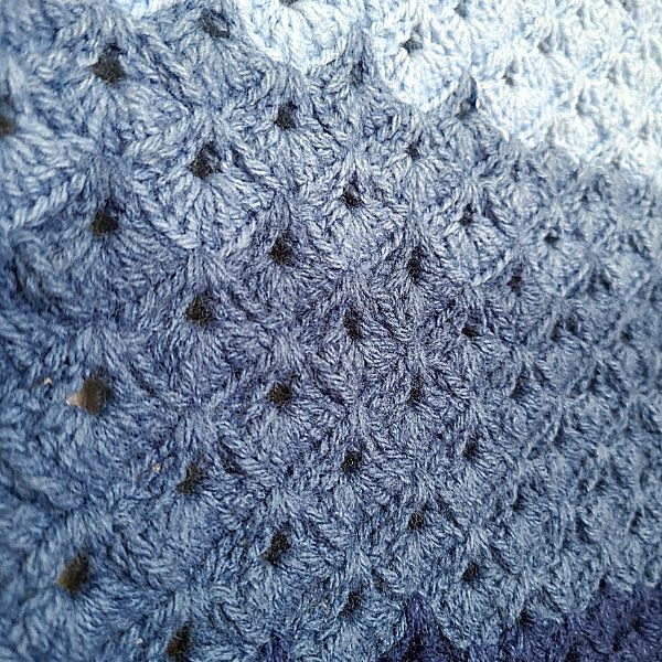 Crochet box stitch tutorial, US and UK terms by The Loophole Fox
