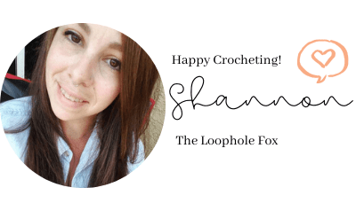 This image has an empty alt attribute; its file name is The-Loophole-Fox-Crochet-Signature.png