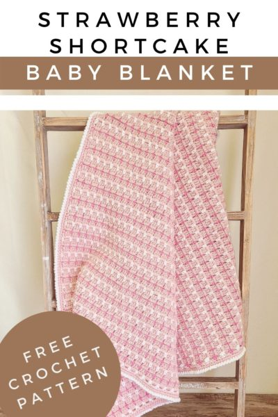 Double Crochet Baby Blanket by The Loophole Fox