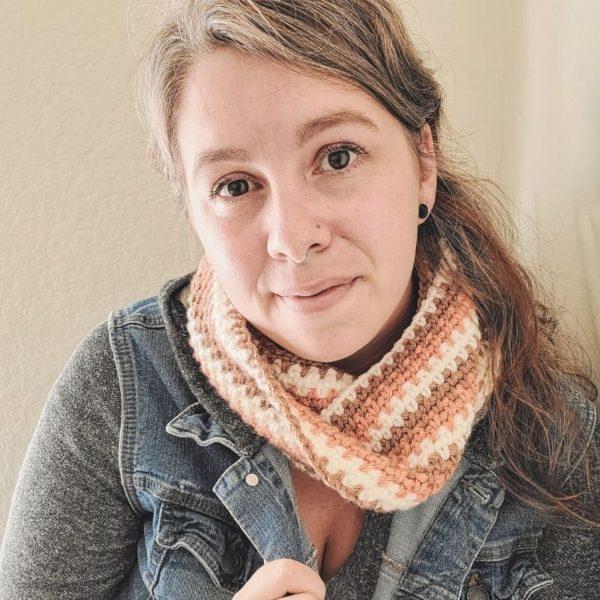 Moss Stitch Crochet Pattern by The Loophole Fox