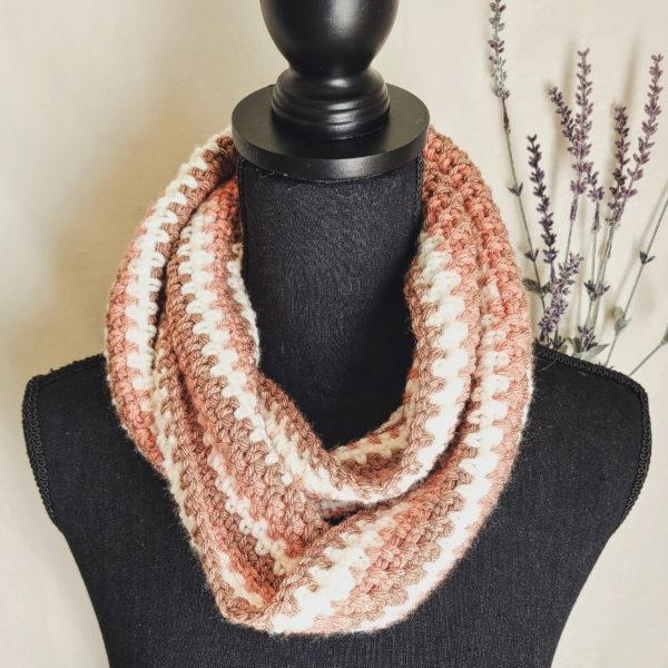 Moss Stitch Crochet Scarf pattern by The Loophole Fox