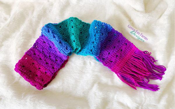 fun crochet scarf pattern