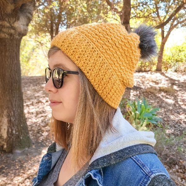 The Loophole Fox wearing The Arctic Beanie