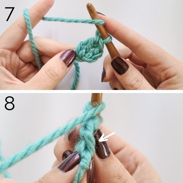 Steps 7 and 8