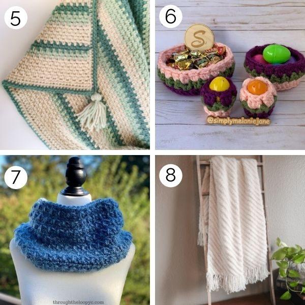 crochet patterns using bulky yarn.